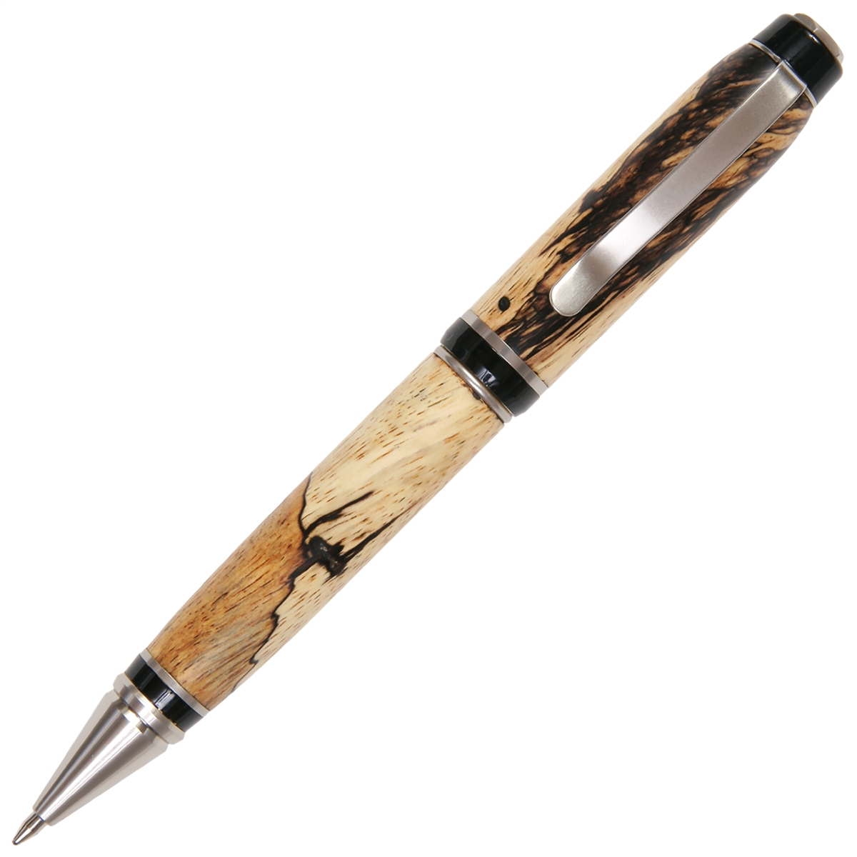 Cigar Twist Pen - Tamarind Spalted