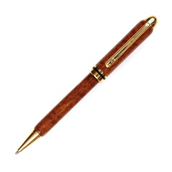 Designer Twist Pen - Praduak Tiger Grain