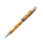 Designer Twist Pen - Yellow Box Elder