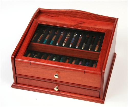 Rosewood Display - 36 Pens