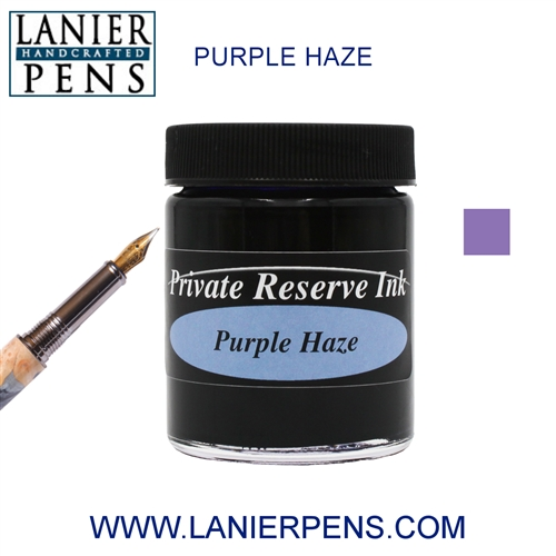 Private Reserve Purple Haze Fountain Pen Ink Bottle 19-ph Lanier Pens