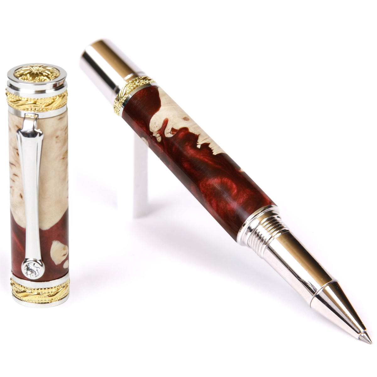 Majestic Rollerball Pen - Red Tide