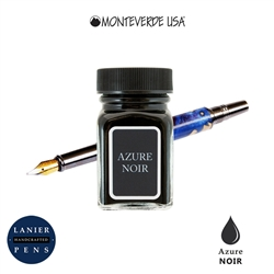 Monteverde G309AN 30 ml Noir Fountain Pen Ink Bottle- Azure Noir