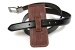 Leather Pen Holster – Brown Triple