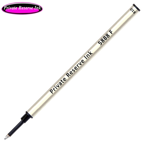 Private Reserve Ink Schmidt 5888 Rollerball Metal Refill - Black Ink Fine
