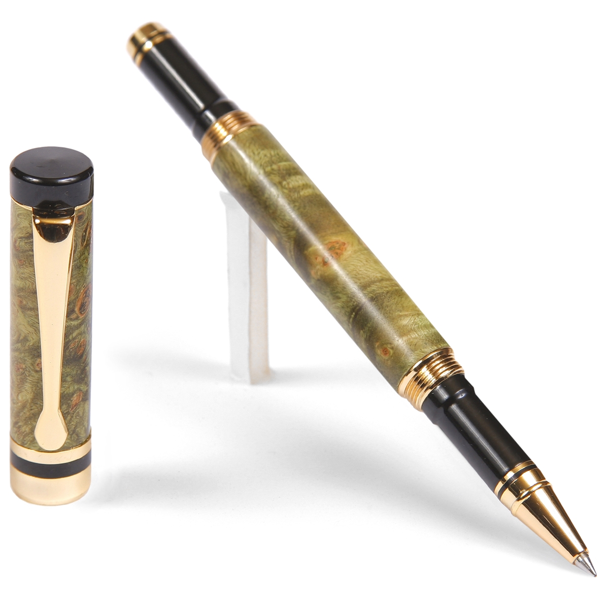 Classic Rollerball Pen - Green Box Elder